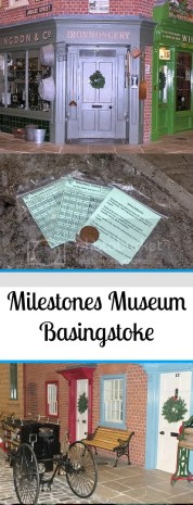 Milestones museum in Basingstoke takes you back in time to the early 1900s. You can see displays of shops, transport and use ration cards to get you weekly ration of sweets