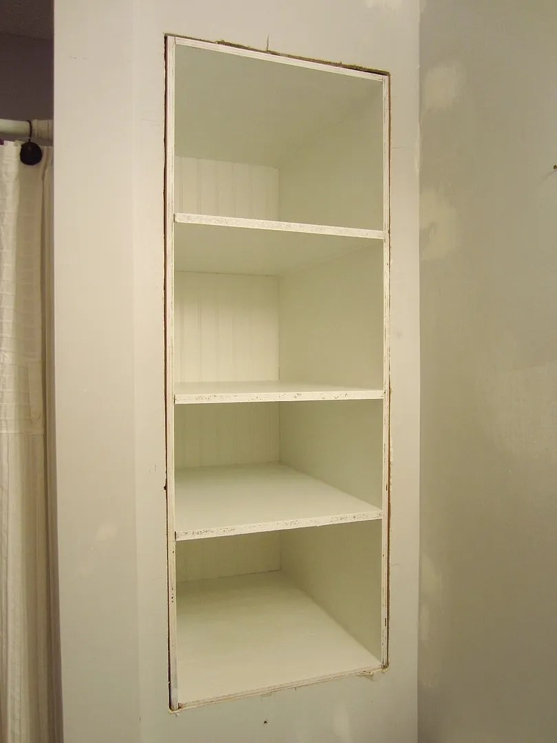 Built-In Storage Between the Studs/HomeStagingBloomingtonIL