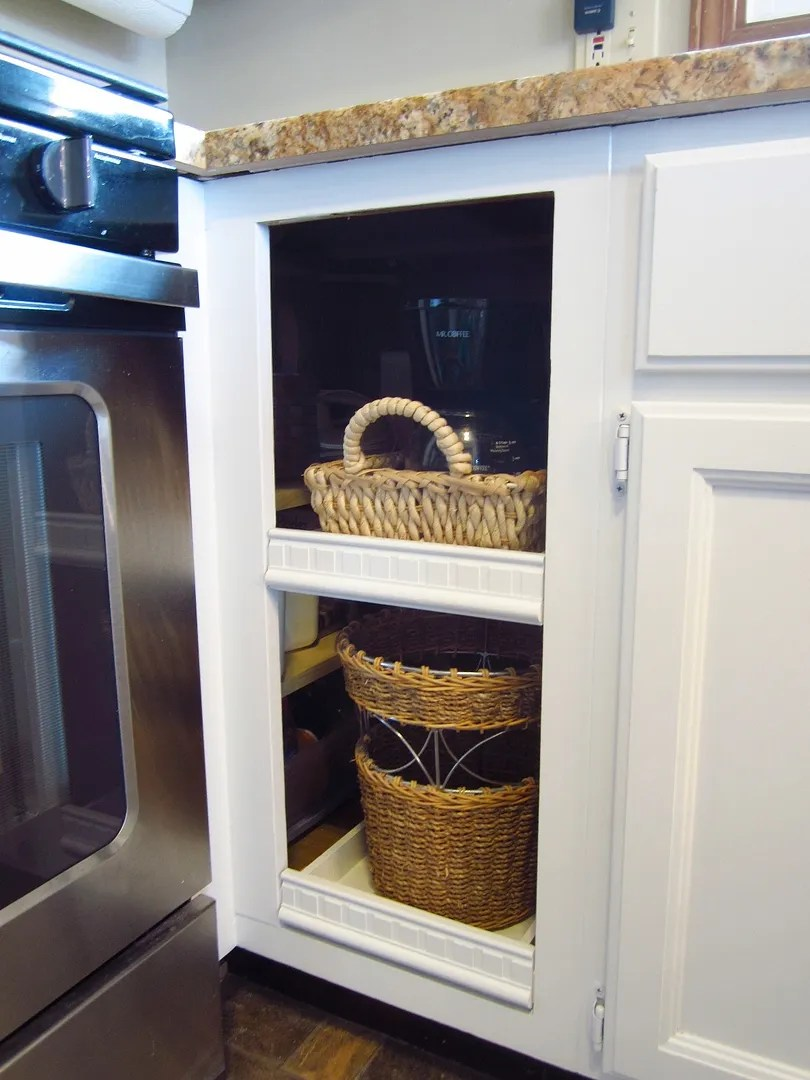 How to Improve Access to Dead Kitchen Cabinet Space/HomeStagingBloomingtonIL