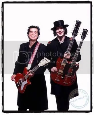Jack White & Jimmy Page - Sodwee & The Raconteurs !