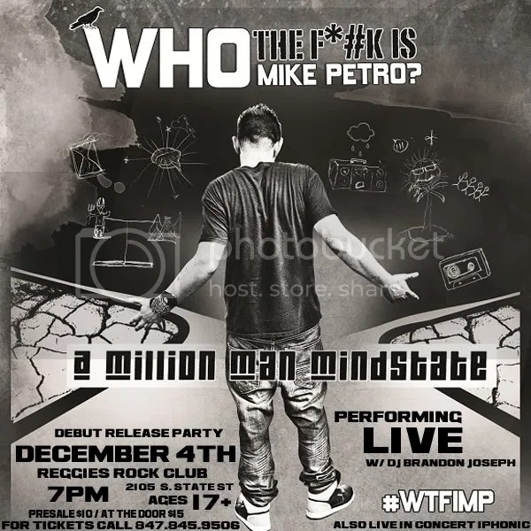 f931f4a31 WHO THE F**K IS MIKE PETRO?' #WTFIMP? [DEBUT RELEASE PARTY] | Miller ...