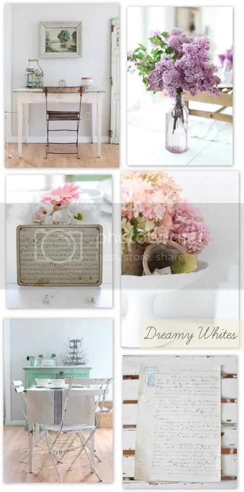 Farmhouse Style at Dreamy Whites