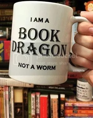 book dragon mug from bookphile of tumblr image