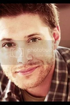 #Supernatural Dean sexy seductive half smile image
