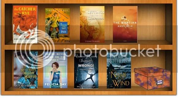 #TackleTBR blog of @JLenniDorner Duo Color Challenge books of Orange and Blue