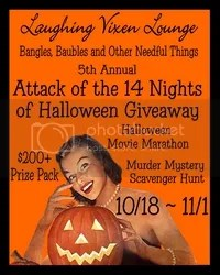Attack of the 14 Nights of Halloween Blog Hop Giveaway
