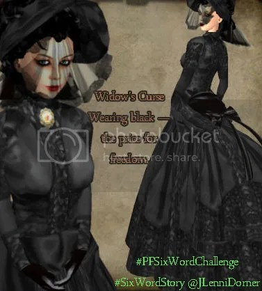 Widow's Curse #PFSixWordChallenge #SixWordStory @JLenniDorner