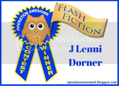 @OpAwesome6 #FlashFiction Winner @JLenniDorner April 2016