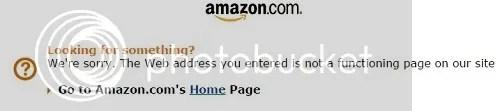 Amazon error image