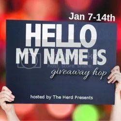 blog hop image for hello my name is