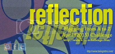 The #atozchallenge reflection post of @JLenniDorner