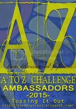 A to z 2015 challenge team member