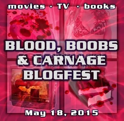 blood boobs and carnage blogfest bloghop image logo