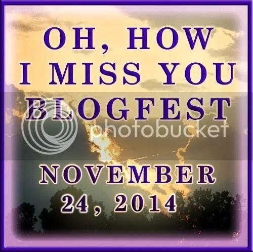 Oh how I miss you blog hop