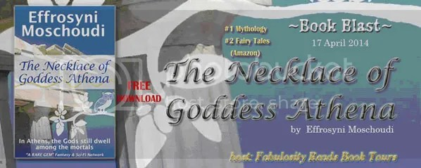 Necklace of Goddess Athena book blast image