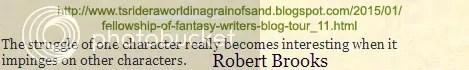 Robert Brooks #writetip on the blog of T S Rider