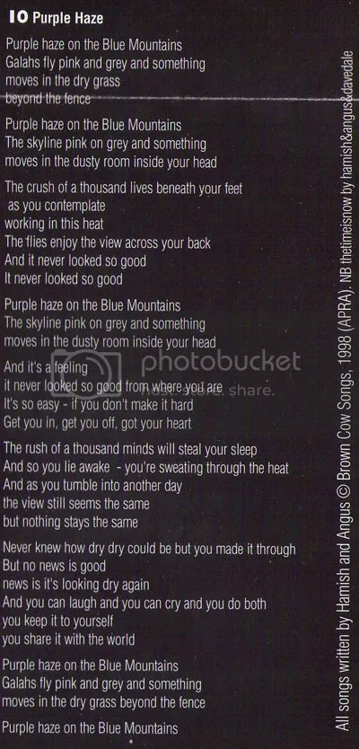 Purple Haze lyrics by brothermusic.com