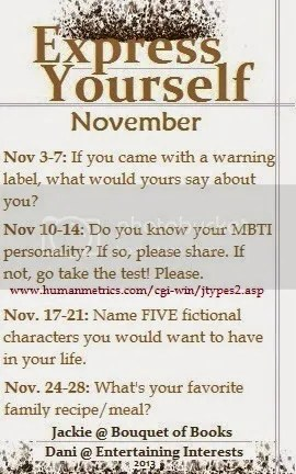 Express Yourself Meme November image