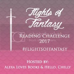 #FlightsOfFantasy Fantasy Reading Challenge 2017