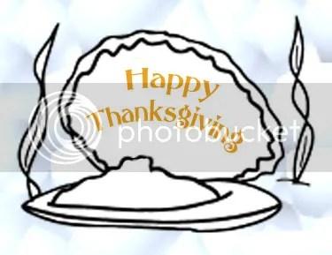 Thanksgiving clam