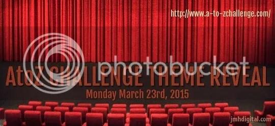 The #atozchallenge theme reveal