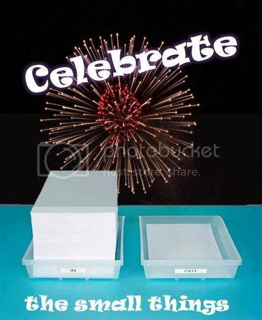 celebrate the small stuff image