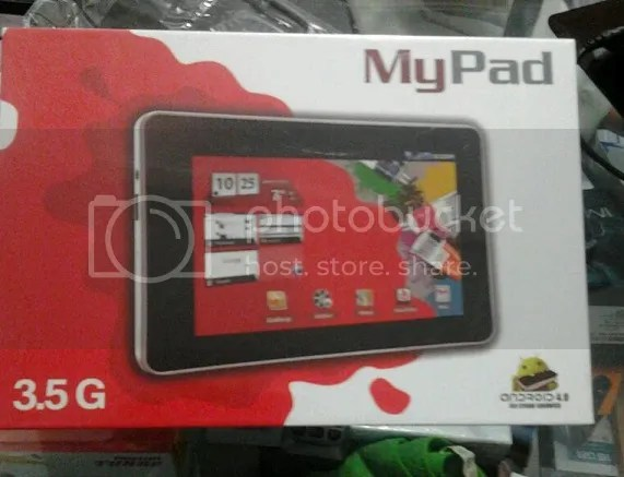 tablet  pc androdi murah my pad 3,5 G series jogja