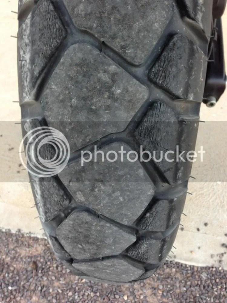 Heidenau K76 Tyre wear