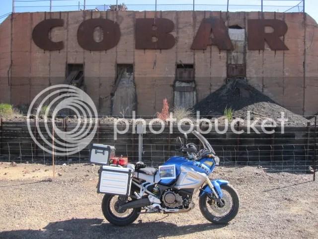 Cober HIstoric Mine site and the Super Tenere