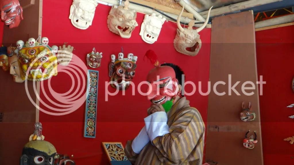 Mask 211112 Bhutan Thimphu