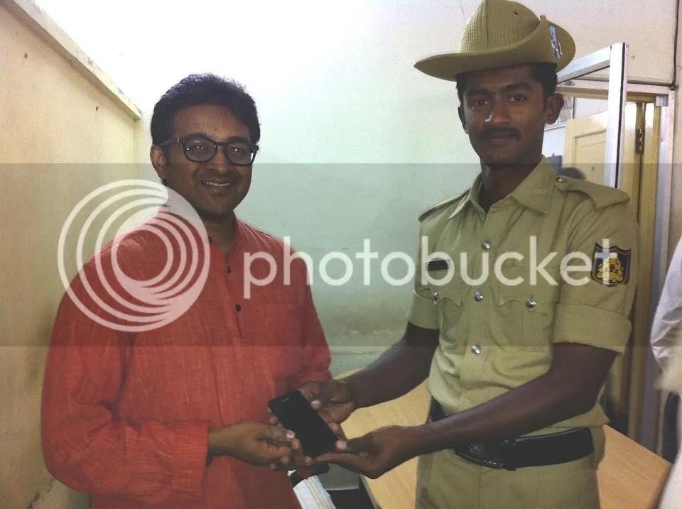 mahesh shntrm police 251012 blr