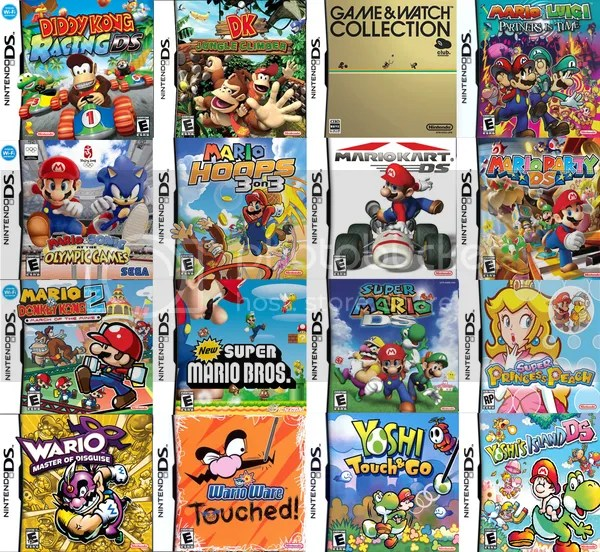 Image result for pic of ds games