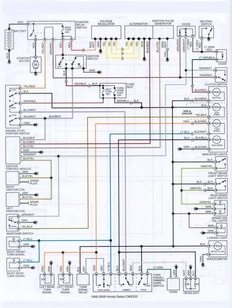 Diagram Of Honda Motorcycle Parts 2004 Cmx250c Ac Camshaft Diagram