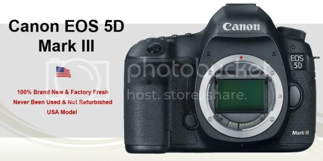 EOS 5D Mark III Deal