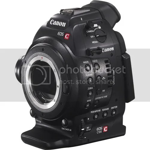 Canon C100 The Right Video Tool