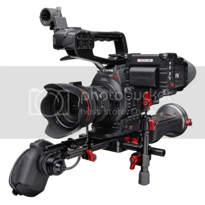 Rig For Canon EOS C100, C300 And C500
