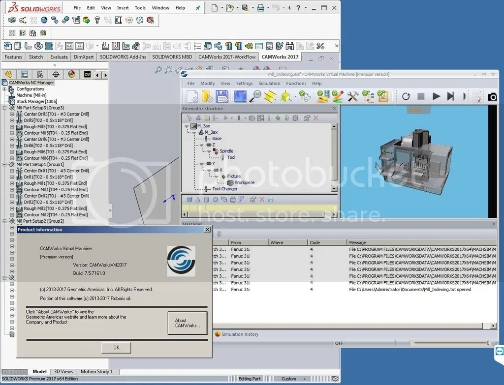 Camworks 2017 sp0 for solidworks 2017 2017 x86x64