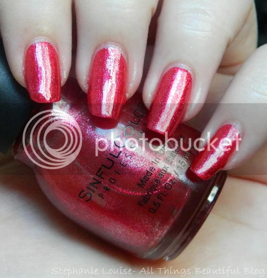 Very Me Metallic Nail Polish Shades: Sinful Colors Mirror Metallics Nail Polish Swatches In