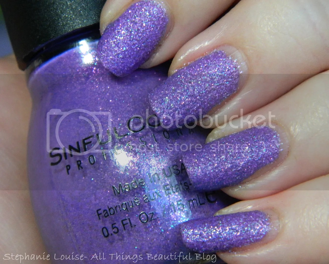 Sinful Colors Crystal Crushes Texture In Treasure Chest Amp Purple Gleam Swatches Amp Review All
