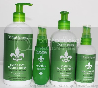 DermOrganic Skin Care & Body Care Review from Stephanie Louise- All Things Beautiful