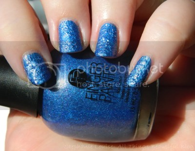 Finger Paints Enchanted Mermaid Tail Textured Nail Collection for Summer 2014 Swatches & Review
