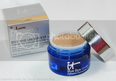 It Cosmetics Bye Bye Under Eye Corrector Concentrate Cream Demo & Review