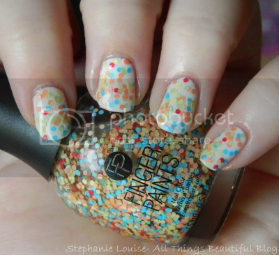 Finger Paints Three's A Party from the Pop Movement for Summer 2014 Swatches & Review