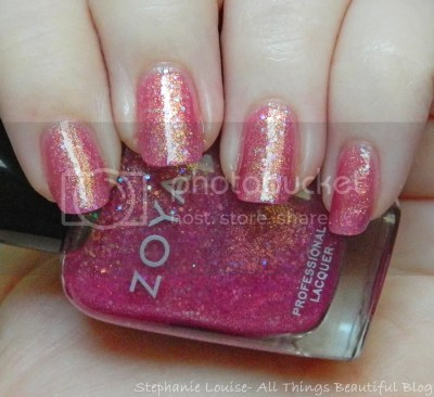 Zoya Bubbly Collection Summer 2014 Swatches & Review. This is the shade Binx. via @stephlouiseatb