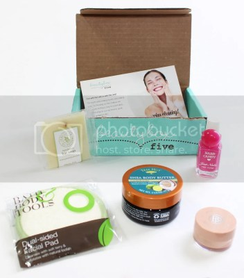 Beauty Box 5 Subscription Box Soap Hard Candy Makeup beauty Subscription Monthly Review