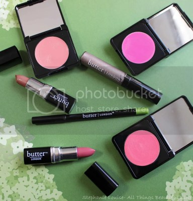 Butter London Cosmetics Eyeshadow Blush Eyeliner Lippy Balm Review Swatches Tutorial