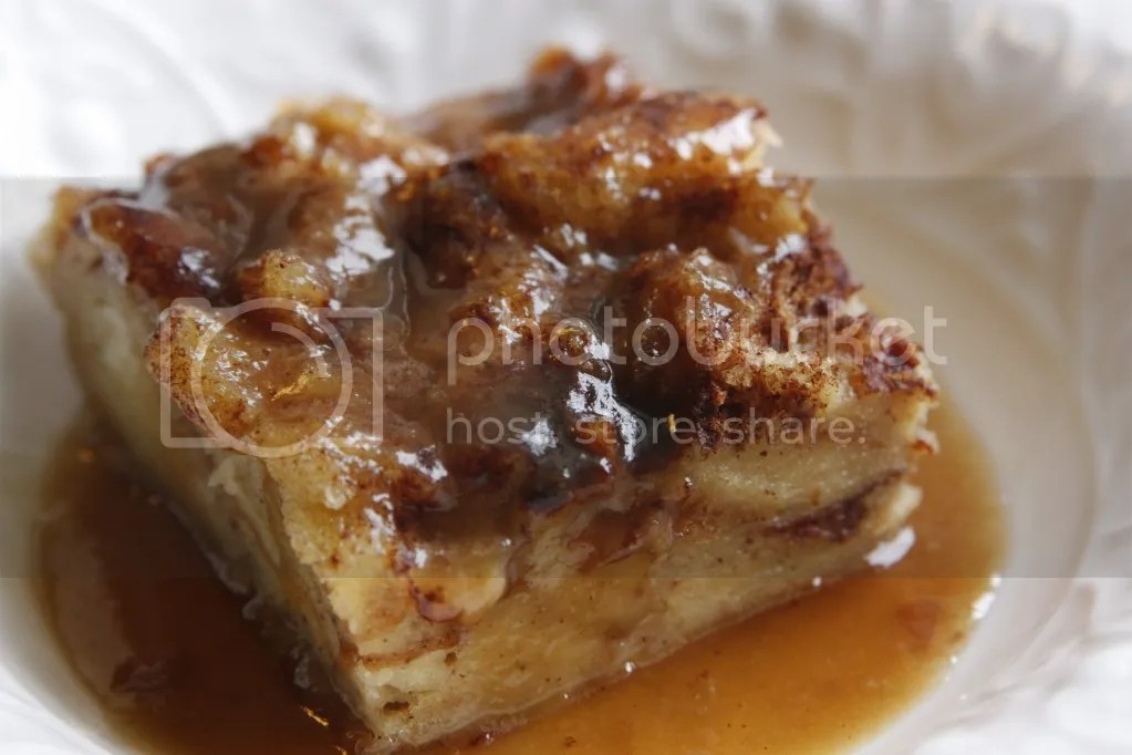 Bread pudding chases any and all pain away. It's warm and rich and ...