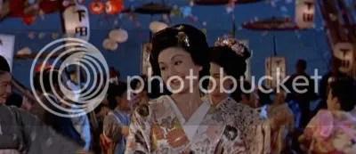 """Bon odori (imagen tomada de la película """"el embajador y la geisha"""")"""