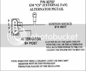 LS and CS130 Alternator wiring  Pirate4x4Com : 4x4 and