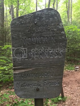 Blood Mountain Wilderness Entrance